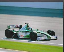 EDDIE IRVINE Jaguar Racing HSBC BECKS LEAR US GRAND PRIX 8 X 10 PHOTO 1