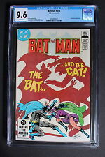 BATMAN #355 vs Selina Kyle CATWOMAN 1983 Barbara Gordon Low Print CGC NM+ 9.6