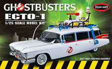 Ghostbusters ECTO-1 Snap Together Model Kit 1:25 Scale Polar Lights
