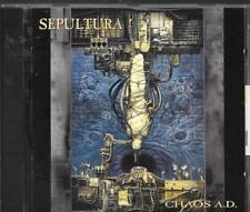 CD ALBUM 12 TITRES--SEPULTURA--CHAOS A.D.--1993