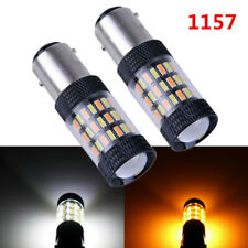 Front Turn Signal Light 1157 2357A 60SMD LED For GMC Yukon 1993-2000 Switchback