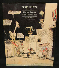 Sotheby's Comic Books and Comic Art Auction Catalog (F/VF) 6/26/1993