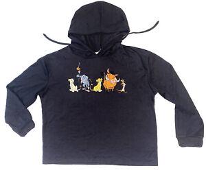 The Lion King Youth Nala Rafiki Timon Pumbba Simba Long Sleeve Hoodie Size XS