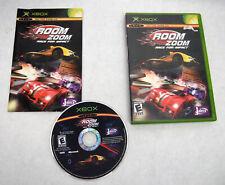 Room Zoom race for impact- Original Xbox Game, complete CIB