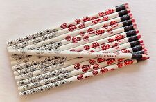 """24 """"Ladybugs and Daisies""""  Personalized Pencils"""