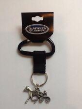 Harness Racing, Standardbred Keychain on Carabiner