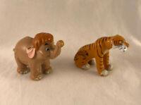 Vintage Disney The Jungle Book Nestle Magic Figure - Shere Khan & Hathi Jr.