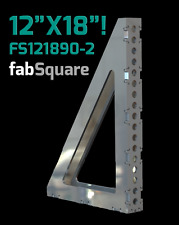 "CertiFlat FS121890-2 FabSquare 12""x18""x2"" - 90 Degree U-Weld Kit - Heavy-Duty"