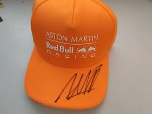 MAX VERSTAPPPEN 2020  SIGNED F1 R.ED BULL RBR ASTON MARTIN ORANGE DRIVERS CAP