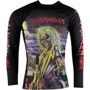 Tatami Fightwear Iron Maiden Killers Long Sleeve BJJ Rashguard