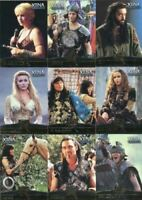 Xena Seasons 4 and 5 Allies Chase Card Set F1 - F9
