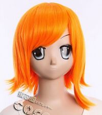 W-271 One piece Nami Cosplay Perruque Anime Manga wig Hitzefest Orange 35 cm