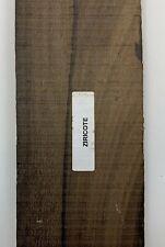 (3)  Wholesale lot of 3,  Ziricote  Binding Strips Wood Sticks Luthier Tonewood