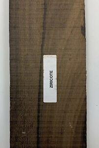 (3) en Gros Lot De 3, Ziricote Fixation Bandes Bois Bâtons Luthier Lutherie