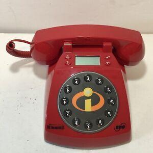 Disney Pixar Telephone The Incredibles Collector's Phone by SBC EUC