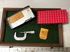 Machinist Tool Lathe Mill Machinist Starrett 2 Micrometer Gage In Box Bkcs