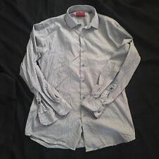 Alfani Fitted Performance Men's Button Down Shirt Medium Striped