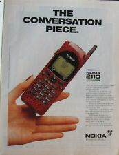 Nokia 2110 print ad cut from a 1995 Magazine