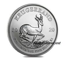 Krugerrand 2020 1 Oz Silver Plata Argent South Africa Moneda Coin 999 Sudafrica