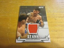 Brian Stann 2013 Topps UFC Knockout Fighter Relics #KRBS #'d 169/188 Card MMA