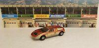 Vintage 1:64 Ertl MERCEDES C111 Red Die-cast- Open Trunck- Hong Kong Cars World