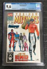 NEW MUTANTS #99 CGC 9.6 1st SHATTERSTAR & FERAL White Pages WP Rob Liefeld