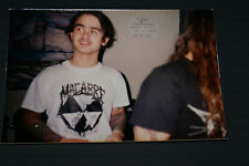 Napalm Death Mick & Jesse Signing Autographs In Brazil Back In 1990 Very Rarepic