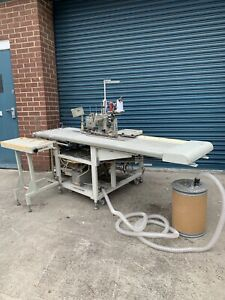 Pegasus W500 Automatic Hemmer Hemming Sewing Machine Conveyor Belt Industrial