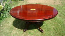 Mahogany Oval 60cm-80cm Height Kitchen & Dining Tables