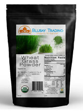 1lb. WHEAT GRASS POWDER USA GROWN & PRODUCED - USDA CERTIFIED ORGANIC -SUPERFOOD