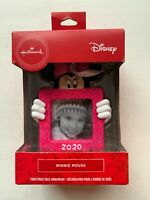 Hallmark 2020 Disney Minnie Mouse Picture Frame Christmas Ornament