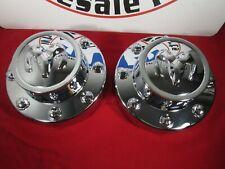 DODGE RAM 3500 Chrome Rear Dually Center Cap Wheel Covers X2 NEW OEM MOPAR