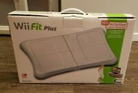 Nintendo Wii Fit Plus with Balance Board Tested Working with Box and Game