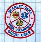 Fire Patch - Scarlet Oaks Great Oaks Fire Training