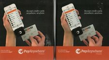 Lot of 2 PayAnywhere Pay Anywhere Mobile Credit Card Readers New