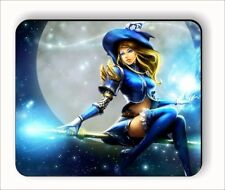 WITCH SEXY HALLOWEEN MOUSE PAD -gyj6Z