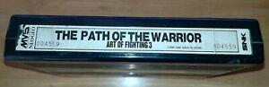 THE PATH OF THE WARRIOR ART OF FIGHTING 3 - NEO GEO MVS *ORIGINAL* *100% WORKING