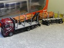 1/87 Herpa Scania R HL Holztransporter-HZ Ziefle Transporte 307840