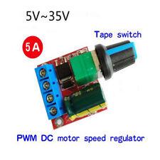 5a 90w Pwm 12v Dc Adjustable Motor Speed Controller Module Dc Dc 5v 35v