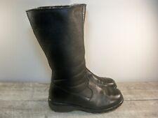 Toe Warmers Womens Shearling Sheepskin Mid Calf Sherpa Winter Snow Boots Size 10