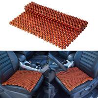 Summber Cool Wood Beaded Car Transit Van Seat Covers Universal Office Chair Met