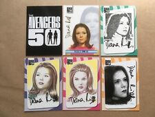 the Avengers set of 6 preview trading cards - Emma Peel (188/499)