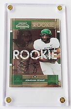 2008 Jonathan Stewart Playoff Contenders Rookie RC College Ticket Auto /25 RARE