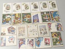 (PRL) LOTTO 21 CARTOLINE CARTOLINA NATALE LOT CHRISTMAS CARD POSTCARDS NOEL