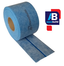 5m AQUA BUILD IV Waterproof Fleece Tanking Tape with elastic flexible strip