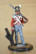 SERIES 77 90mm NAPOLEONIC BRITISH LINE REGT PRIVATE 1815 WATERLOO STUDIO PAINTED