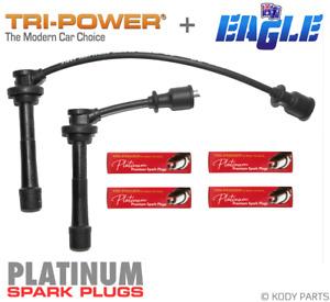 IGNITION LEADS & PLATINUM PLUGS for Suzuki Baleno 1.6L G16B Type 3,4,5,6,7