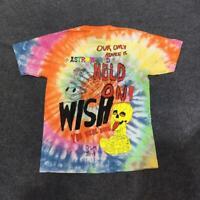 Travis Scott Astroworld Tour Astronaut Tee Tie dyeing  Astrworld T-shirt Men