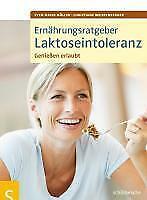 Buch Ernährungsratgeber Laktoseintoleranz Müller Weissenberger