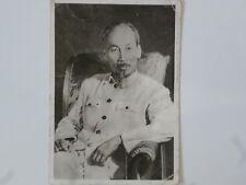 Ho Chi Minh postcard original 1957 year